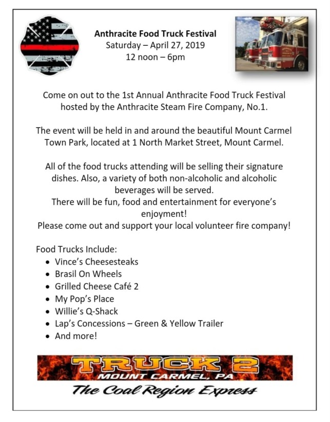 Anthracite Food Truck Festival